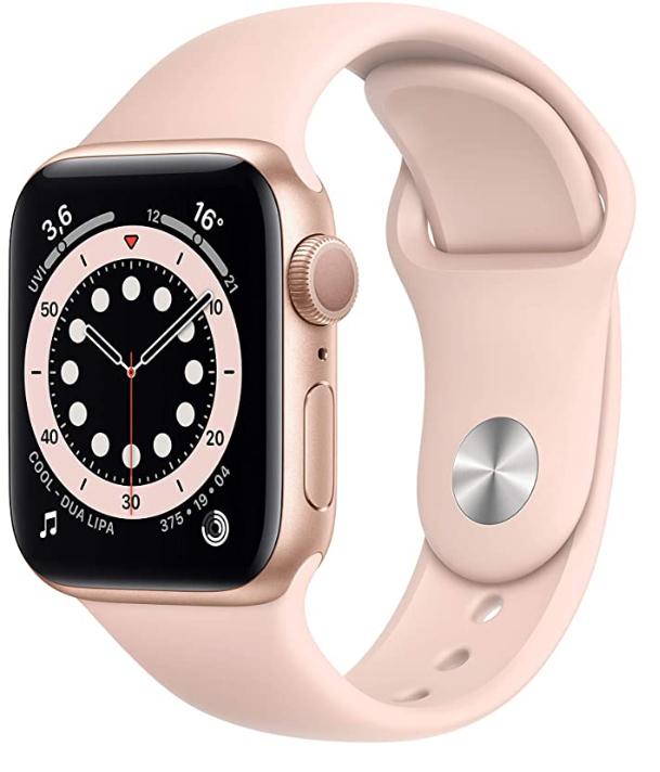 Alle normalen Apple Watch Series 6 GPS 40mm Modelle für 359,- Euro