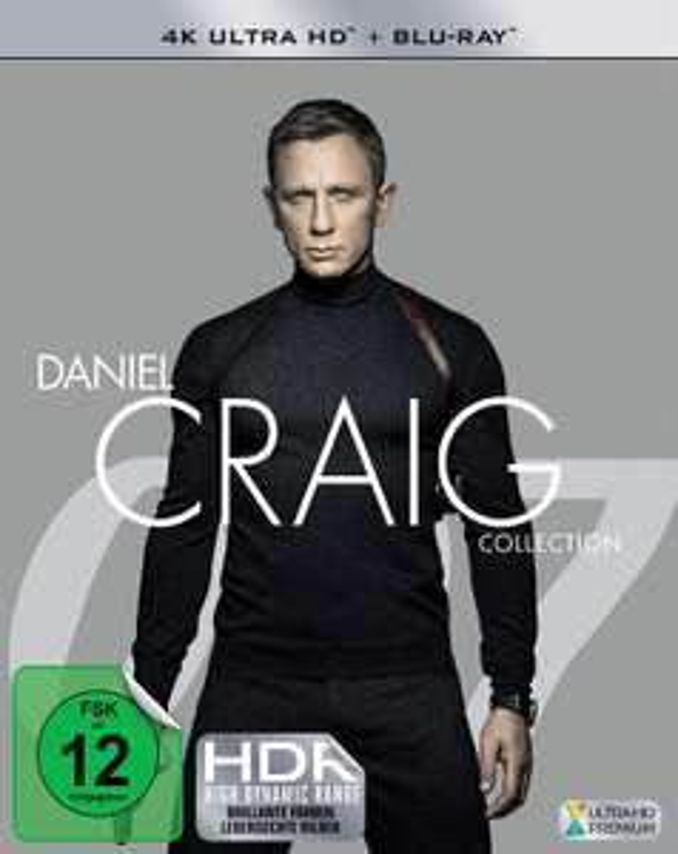 [PRIME] James Bond: Daniel Craig Collection (4K Ultra HD + Blu-ray)