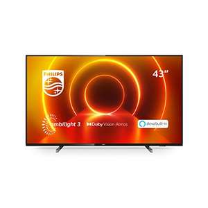 [Prime Day] Philips Fernseher Ambilight 43PUS7805/12 (43 Zoll)