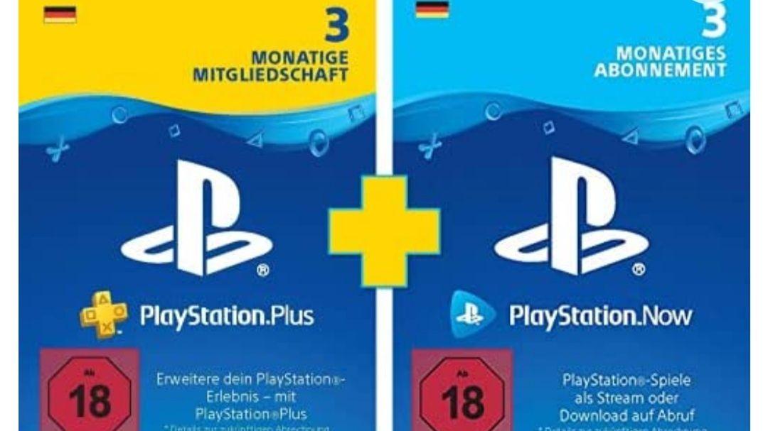 PlayStation Plus (3 Monate) + PlayStation Now (3 Monate) | Prime Day Bundle | PS4/PS5 Download-Code (deutsches Konto)