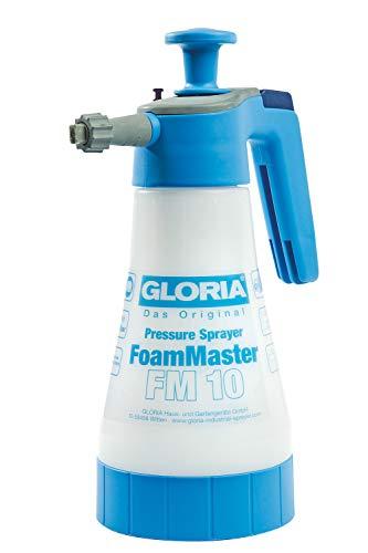 [prime] GLORIA FoamMaster FM 10 Schaumsprüher, 1L Füllinhalt, austauschbare Schaumpatronen