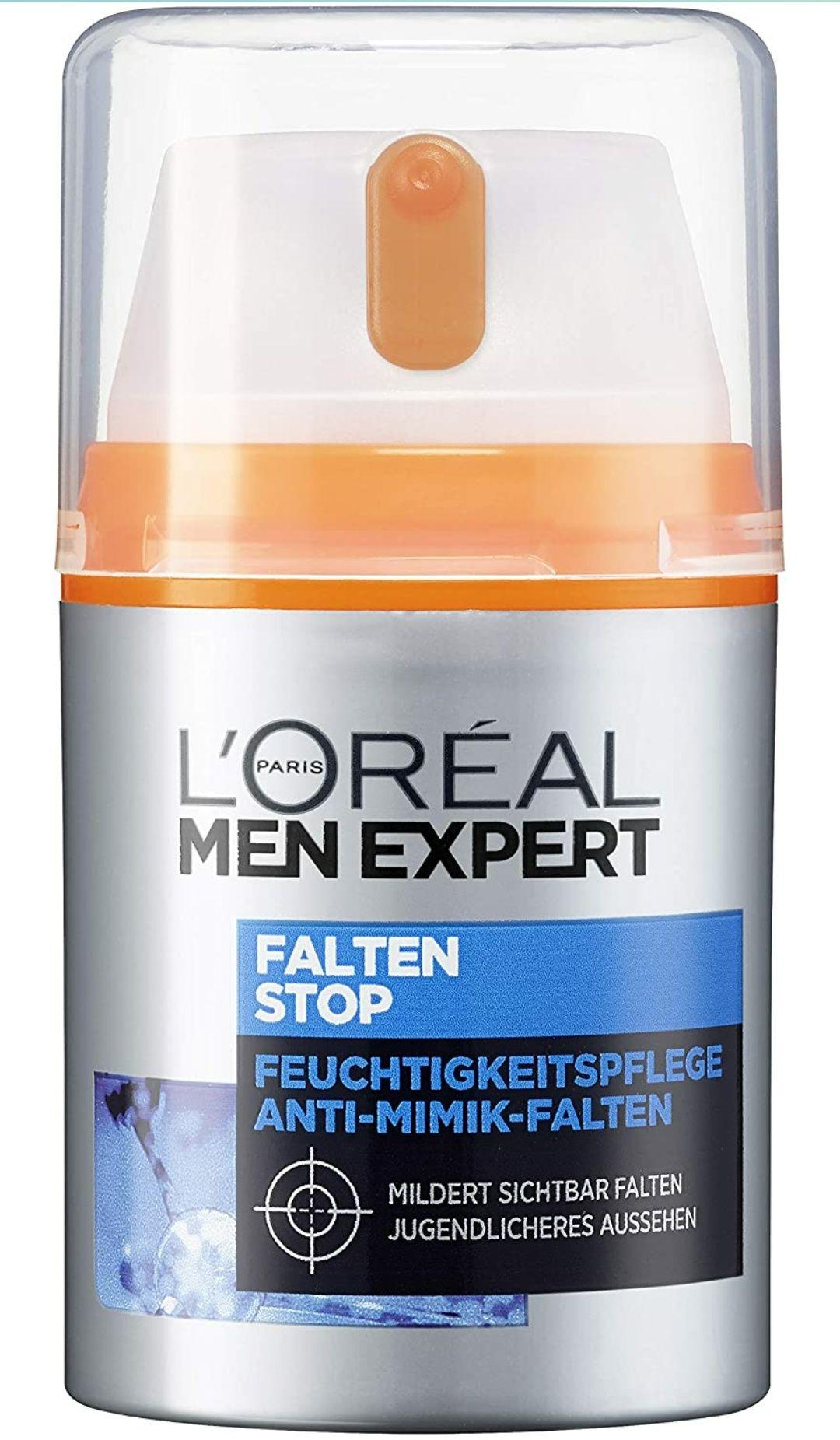 (Prime Day) L'Oréal Men Expert Gesichtspflege gegen Falten - Anti-Aging Feuchtigkeitscreme - 1,99 Euro pro Stück beim Kauf von 4 Packungen