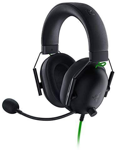 Razer BlackShark V2 X - Premium Esports Gaming Headset (Kabelgebundene Kopfhörer mit 50mm-Treiber,