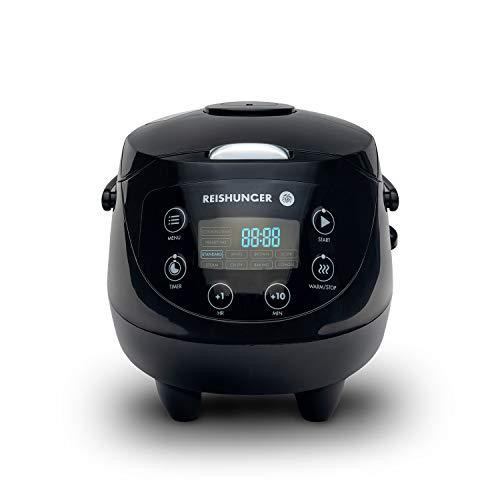 Digitaler Reishunger Mini Reiskocher und Dampfgarer für 1–3 Personen