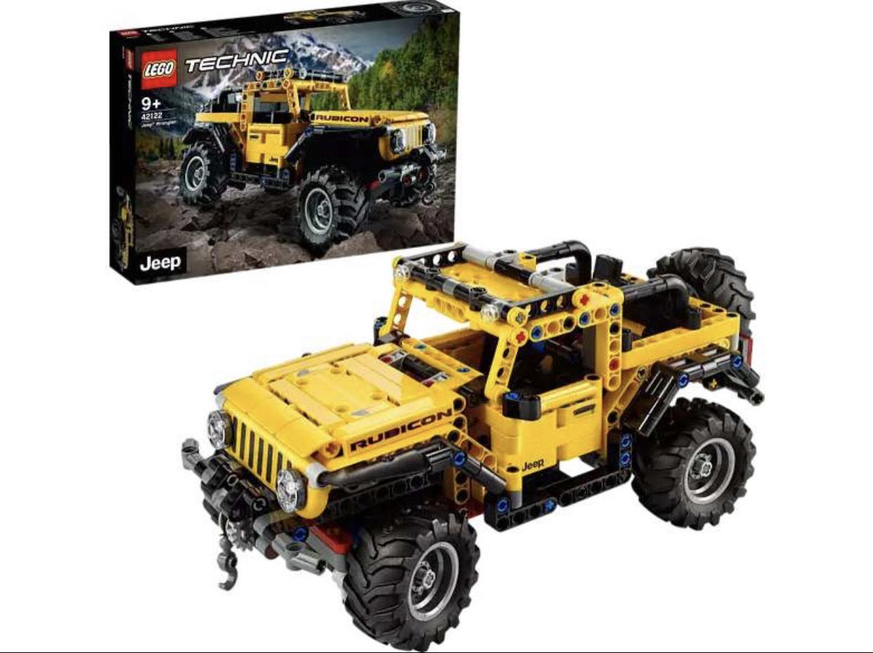 [Amazon] LEGO 42122 Technic Jeep Wrangler 4x4