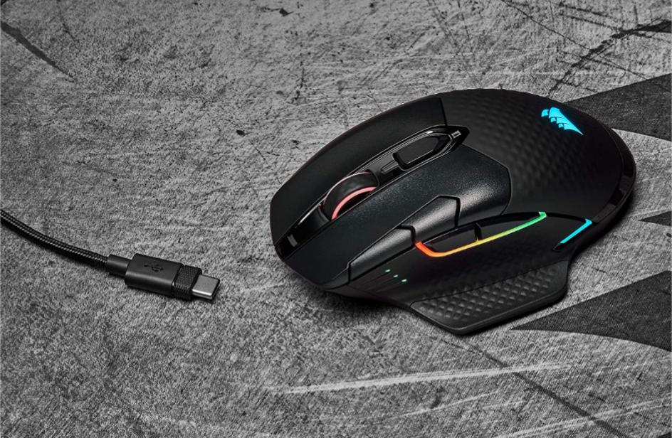 (Prime) Corsair Dark Core RGB Pro SE kabellose Maus