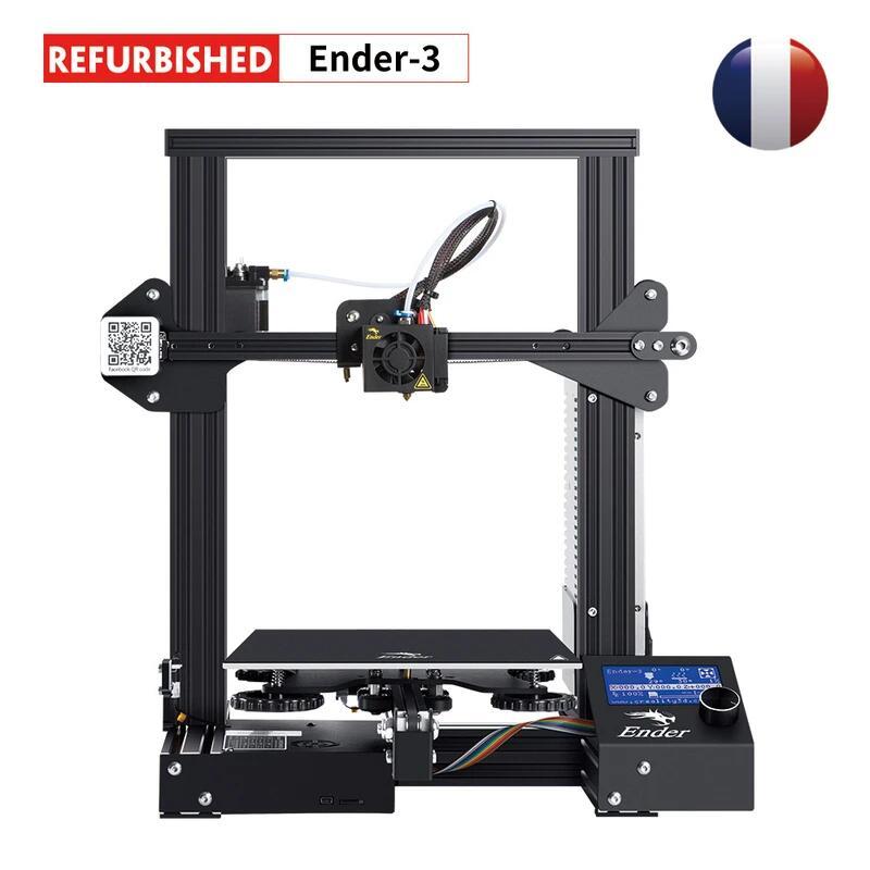 Creality Ender 3 refurbished 3D-Drucker (22x22x25cm)