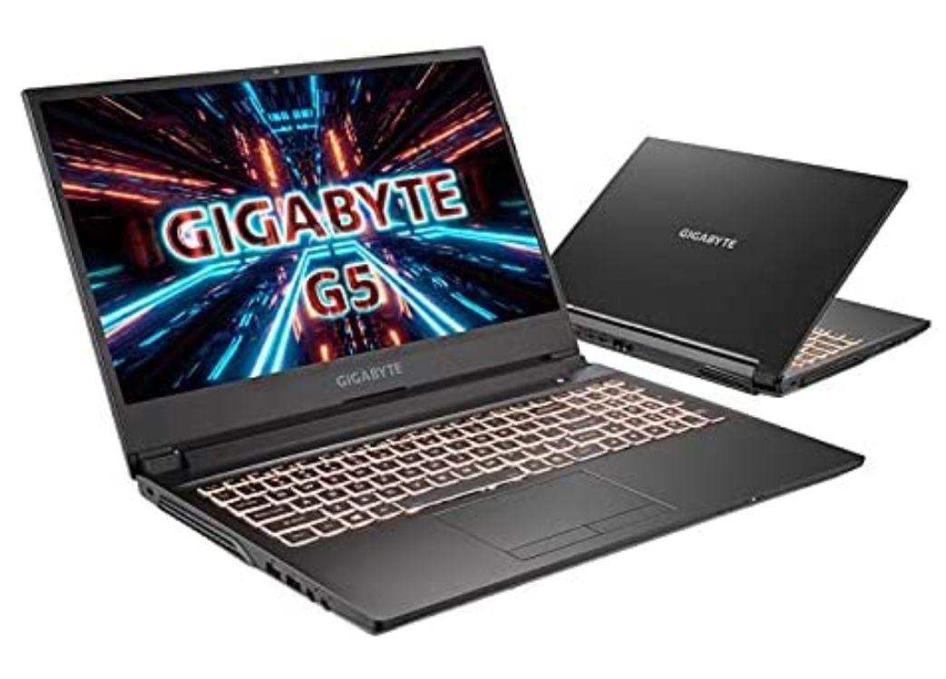"[Amazon ES Prime] Gigabyte G5 Laptop 15.6"" FHD IPS 144Hz, i5-10500H (6/12), 16GB RAM, 512GB SSD, RTX 3060 105W, bel. QWERTY, FreeDOS, 2.2kg"