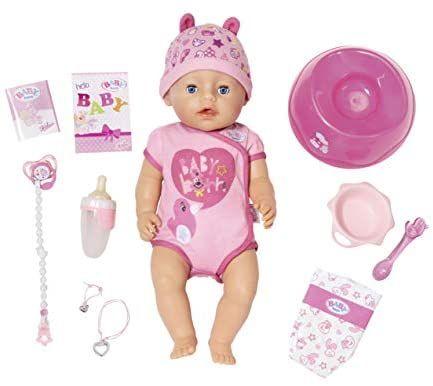 BABY born Soft Touch Girl Puppe 43cm für 29,99€ oder Boy für 31,49€, Amazon Prime