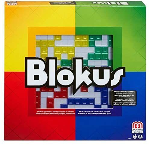Mattel Games Blokus Strategiespiel und Gesellschaftsspiel, Amazon Prime