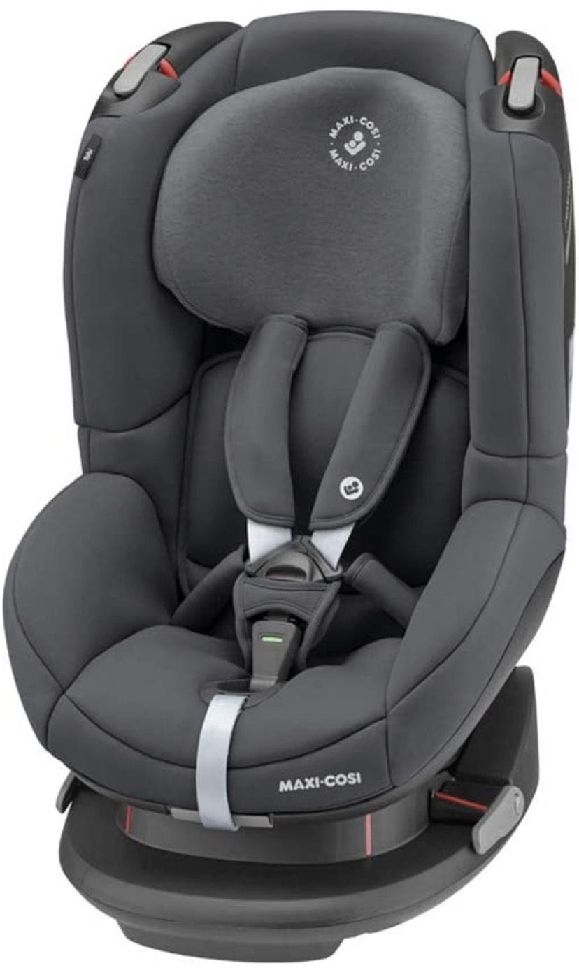 [Prime Day] Maxi-Cosi Tobi Kindersitz, ca. 9-18 kg, nutzbar ab ca. 9 Monate bis ca. 4 Jahre, Authentic graphite