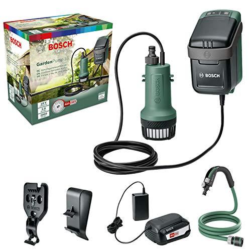 [Prime] Bosch Tauchpumpe GardenPump 18 mit Akku für 85,99 für Prime Kunden