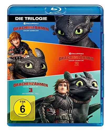 Drachenzähmen leicht gemacht 1-3 - Die Trilogie [Blu-ray] für 14,97€ [Amazon Prime Day]