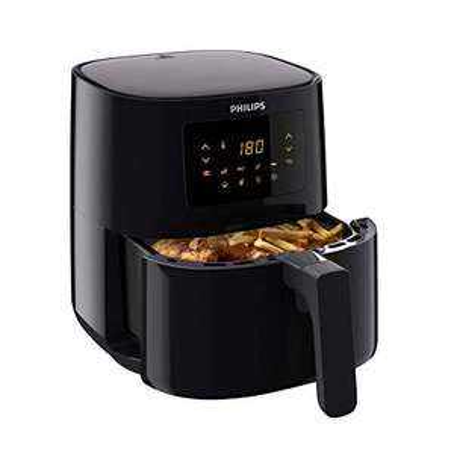 [Prime] Philips HD9252/90 Airfryer - Das Original (Heißluftfritteuse, 1400W, für 2-3 Personen, 800g/4,1L Kapazität, digitales Display)