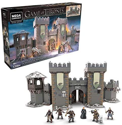 Mega Construx GMN75 - Probuilder Game of Thrones Die Schlacht um Winterfell, Amazon Prime