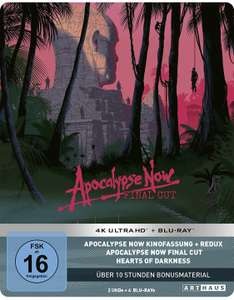 (Prime) Apocalypse Now / Limited 40th Anniversary Steelbook Edition / 4K Ultra HD [Blu-ray]