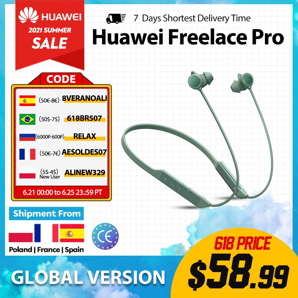 Huawei FreeLace Pro Bluetooth Earphones (Necklace)