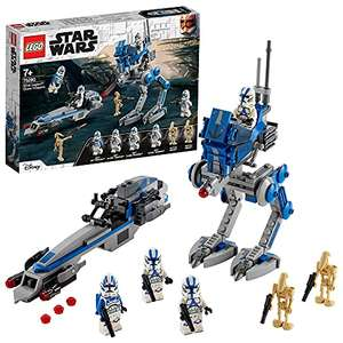 [AMAZON PRIME] LEGO 75280 Star Wars Clone Troopers der 501. Legion