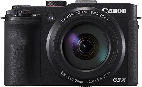 [Prime] Canon PowerShot G3 X Digitalkamera - mit Ultra-Weitwinkelobjektiv (20,2 MP, 25-fach optischer Zoom, 8cm (3,15 Zoll) LCD-Touchscreen)