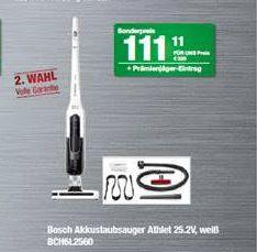 lokal: Für Uns Shop Hamburg - Bosch BCH6L2560 Akkustaubsauger