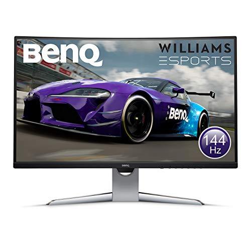 BenQ EX3203R Gaming Monitor (32 Zoll) FreeSync, Curved, 144Hz USB Typ-C (Amazon.fr Prime)