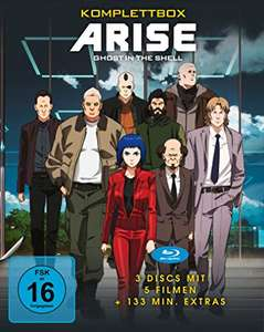 Ghost in the Shell - ARISE - Komplettbox (Blu-ray) für 33,43€ (Amazon Prime)