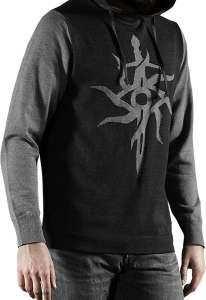 Musterbrand Grey Dragon Age Hoodie The Inquisitor Knit (Größen XS bis XL)