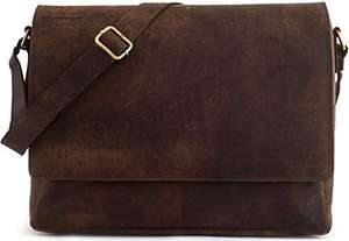 Leabags Oxford Messenger Tasche