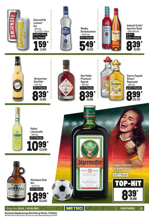 [METRO] Don Pablo Spiced Rum im Angebot für 9,98€ inkl. MWSt