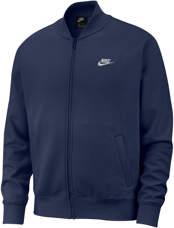 Nike Sportswear Club Fleece Sweatjacke in midnight navy (Gr. S - XL)