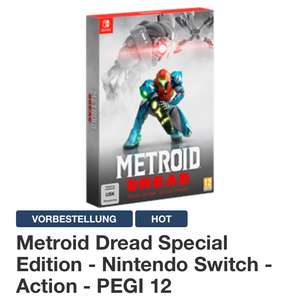 Metroid Dread Special Edition Nintendo Switch