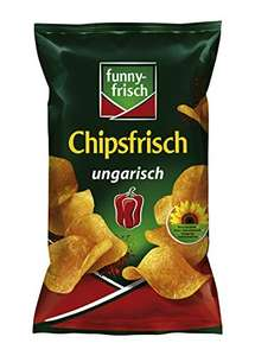 Prime-Day funny-frisch Chipsfrisch ungarisch, 10er Pack (10 x 175 g)