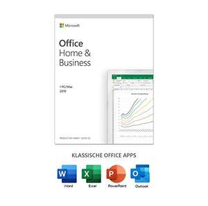 [Amazon PrimeDay] Microsoft Office 2019 Home and Business Dauerlizenz / Key Card