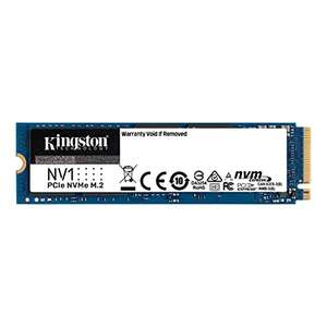 Kingston NV1 M.2 500GB SSD (R: 2100 MB/s - W: 1700 MB/s) für 40,99€ (Amazon Prime Day)