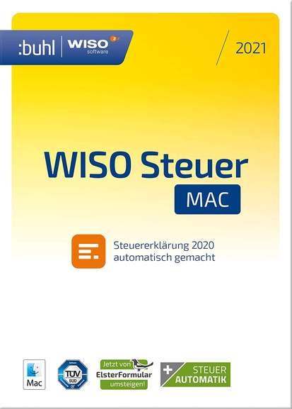 WISO Steuer-Sparbuch 2021 o. Steuer-Mac 2021 Code per Mail für je 18,99€ [Amazon Prime]