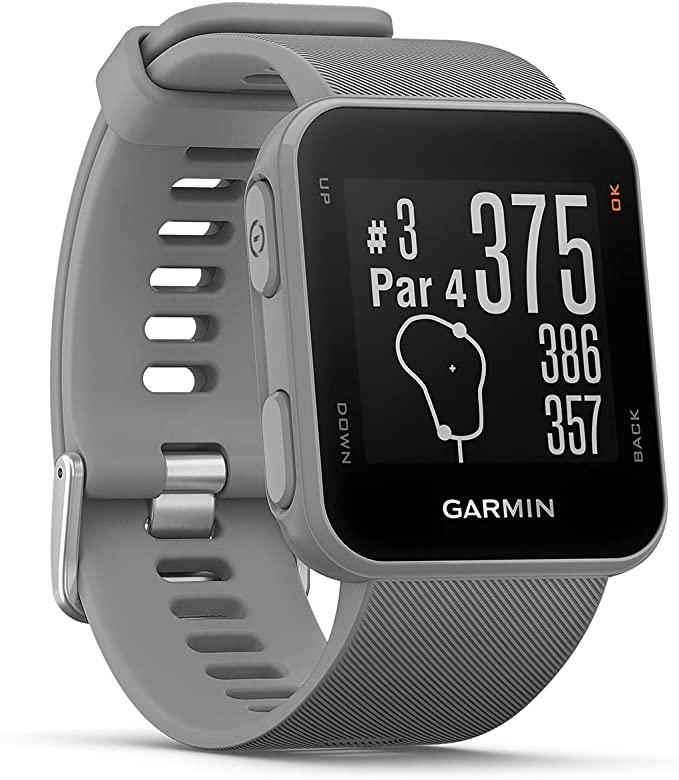 (Prime): Garmin Approach S10 grau Golfuhr