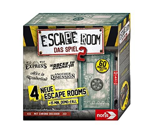 [Amazon Prime] Escape Room - Das Spiel 2 für 26,29 € und Escape Room - Jumanji für 22,99 € (Brettspiel, Gesellschaftsspiel)