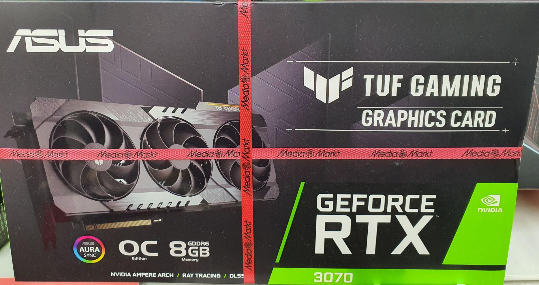 [ LOKAL MM Münster ] ASUS Tuf Gaming RTX3070 8GB Grafikkarte