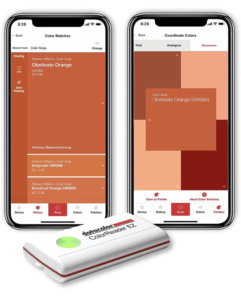Datacolor ColorReader EZ: Farbe digital bestimmen und identifizieren