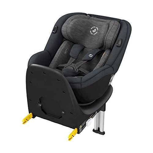 Maxi-Cosi Mica, 360° drehbarer i-Size Kindersitz inkl. ISOFIX Basis + e-Safety Kissen, Gruppe 0+/1 Autositz, G-Cell Seitenschutz, graphite