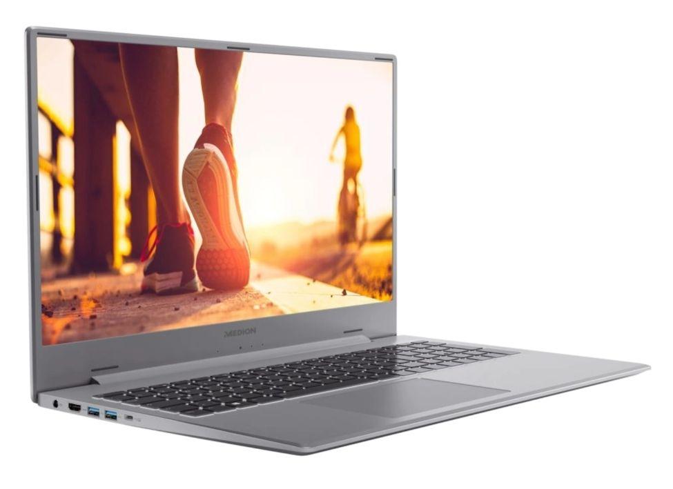 """MEDION Akoya P17609 17.3"""" FHD IPS, i5-1135G7, 16GB RAM, 256GB SSD + 1TB HDD, MX450, Alu-Body, USB-C + DP, beleuchtete Tastatur, Win10, 2.3kg"""