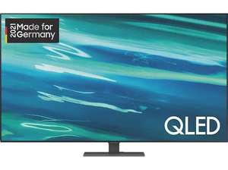 [SATURN] Samsung GQ55Q80A QLED TV (Flat, 55 Zoll / 138cm, UHD 4K, Smart TV, Tizen)