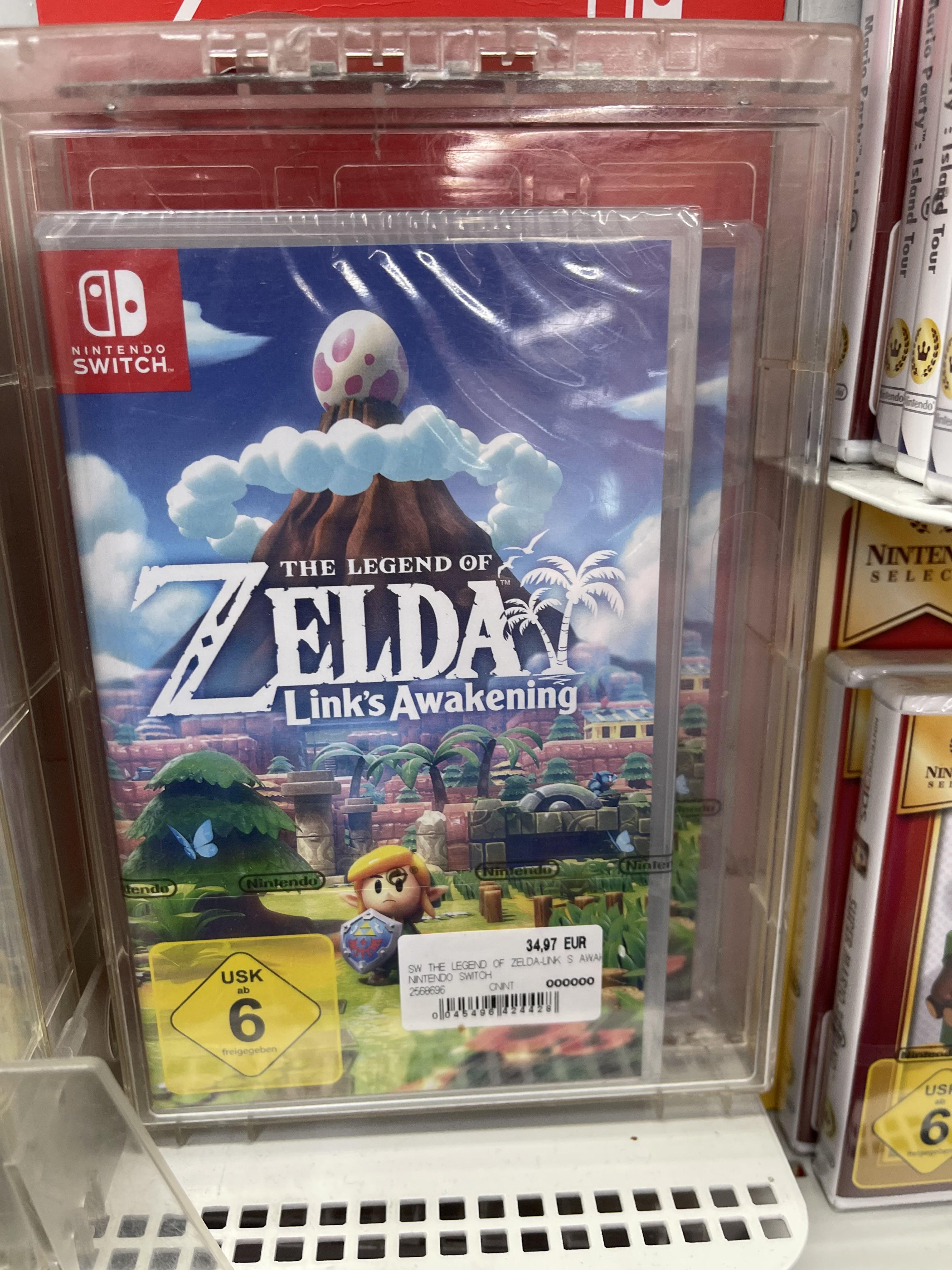 [ Lokal Kassel ] The Legend of Zelda Links Awakening - Nintendo Switch - Saturn