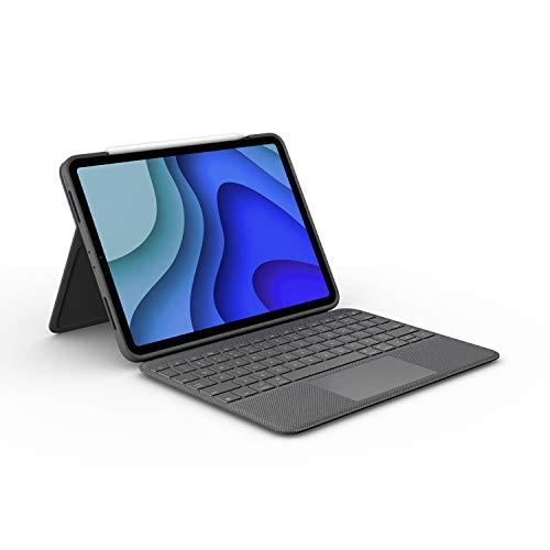 """[Amazon WHD] Logitech Folio Touch Tastaturhülle für 11"""" iPad Pro mit Touchpad und Smart Connector, deutsche QWERTZ-Tastatur Zustand: Wie neu"""