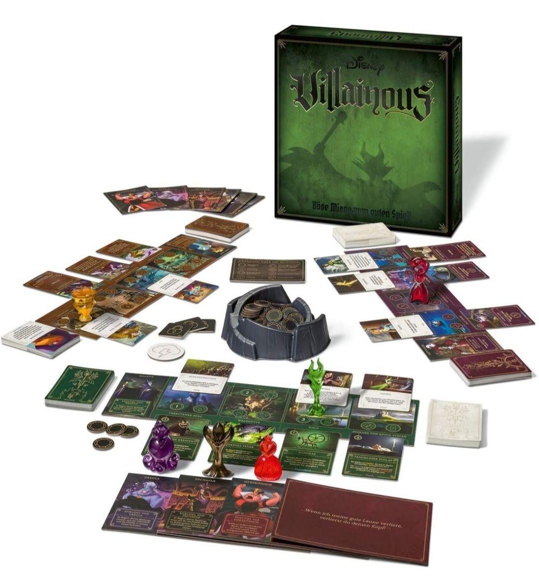 [Prime Day] Ravensburger Gesellschaftsspiel - Disney Villainous - Spannendes Brettspiel ab 10 Jahren (Sammeldeal Villainous)