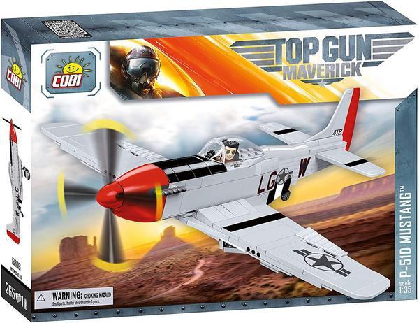 [bol.de] COBI 5806 - P-51D Mustang Top Gun MAVERICK, Klemmbausteine Bausatz, 1:35, 265 Teile