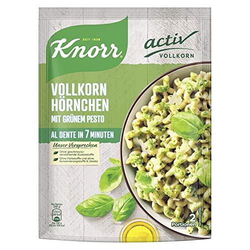 [Prime] Knorr Activ Vollkorn-Hörnchen mit Grünem Pesto, 1 Beutel ( 1 x 149g )