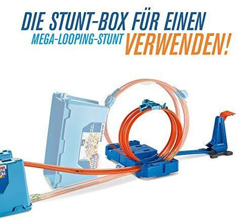 Hot Wheels Track Builder - Sammeldeal, z.B. Stunt Builder Super Multi Looping Box, mit ca. 3 m Tracks [Prime Day]