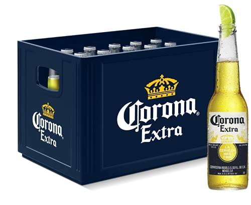 *PRIME* Corona Extra Premium Lager Bier im Kasten (24x0,355l) für 18,49€ inkl. Versand zzgl. Pfand