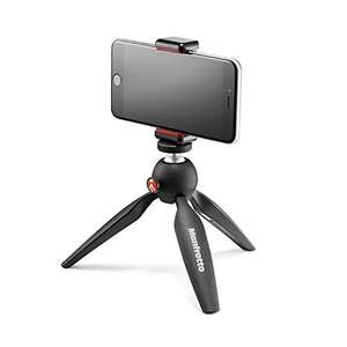 [AMAZON PRIME] Manfrotto Mini Stativ (mit Universal Smartphone Klemme), schwarz // Pixi Smart